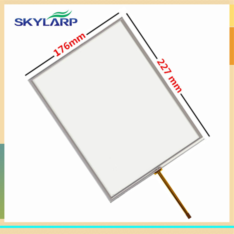 10.4 Inch 4 Wire Resistive Touch Screen 227mm*176mm Digitizer For TP270-10 6AV6545-0CC10-0AX0 Glass Panel Screen