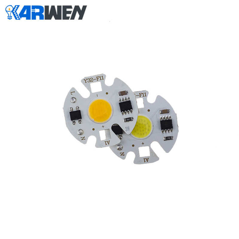 KARWEN LED COB lamp Chip Bulb 10W  20W 30W 50W 220V Real Power Input IP65 Y27 For Outdoor LED Bulb FloodLight Cold Warm White