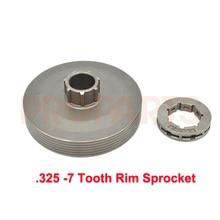 Clutch Drive Sprocket Drum Rim 325 7 Chinese Chainsaw 4500 5200 5800 45CC 52CC 58CC