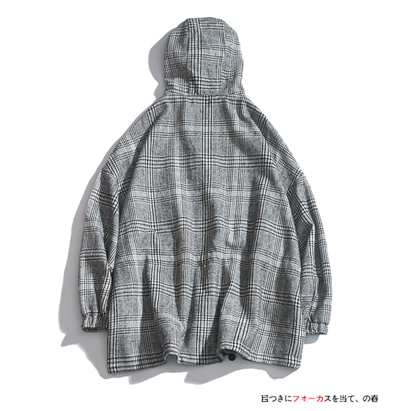 Male Long Coat Oversize Lapel Button Sobretodos Hombre Overcoat Streetwear (5)