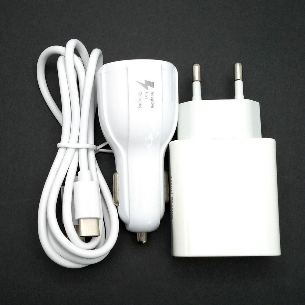 2.4A EU Travel Wall Adapter 2 USB output+ USB Cable+car charger For Blackview BV7000 Pro MT6750T 5.0 Inch 4GB RAM+64GB ROM