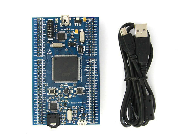 Nodino Robotics - F4-DiscoverFree R2.1 STM32F407 Development Board ARM Cortex-M4