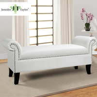 Jennifer Taylor Kathy Roll Arm Bench 53 W X 17 D X 21 1 2 H
