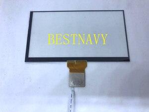 """Image 2 - Livraison gratuite 6.95 """"pouces écran tactile capacitif GT911 6PIN pour voiture DVD écran tactile numériseur verre réparation remplacement"""