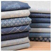 Летняя тонкая мягкая джинсовая ткань цвет хлопок детская рубашка юбка Одежда DIY ручной работы швейный измеритель ткани распродажа