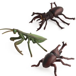Image 3 - Simulation Cobra/Mantis/Spider Figure Collectible Toys Solid Insect Animal  Soft Rubber Toys