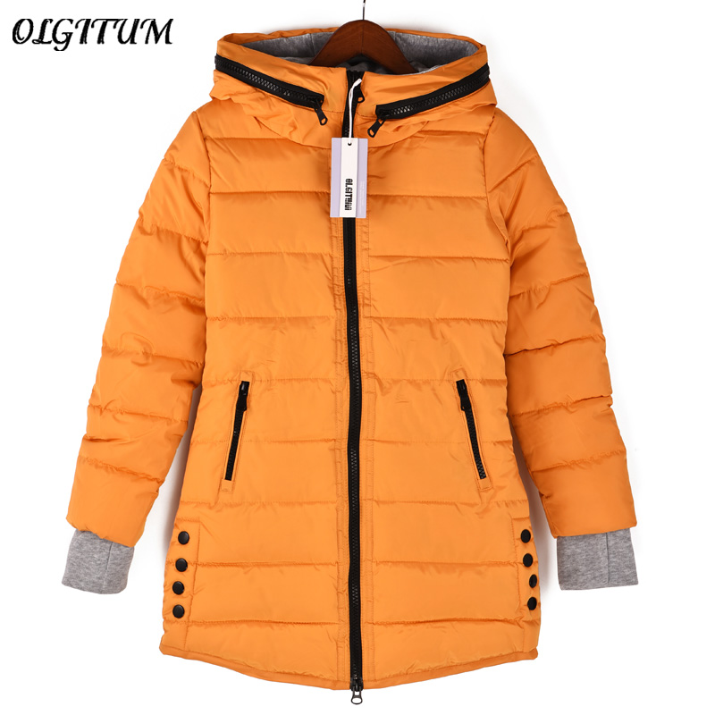 Womens padded coat 2018 Winter jacket Women Long Down Cotton Womens jackets winter jackets women coats Plus Size