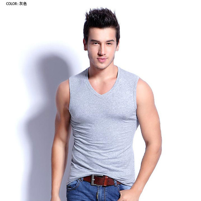 2021 New High Quality Fashion Men's Summer Clothing Robust Body Slimming Cotton Undershirt Shaper Vest Man's Muscle Tank Tops 5