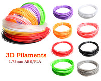 High Quality Smooth 10 Color Or 20 Color PLA ABS Filament 5M Or 10M Color 1