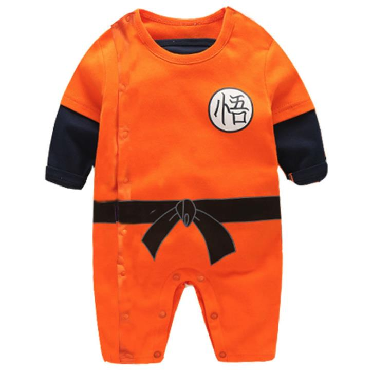 Baby Boy Romper Superman Long Sleeve with Smock Halloween Christmas Costume Gift Boys Rompers Spring Autumn Clothing Free Ship | Happy Baby Mama