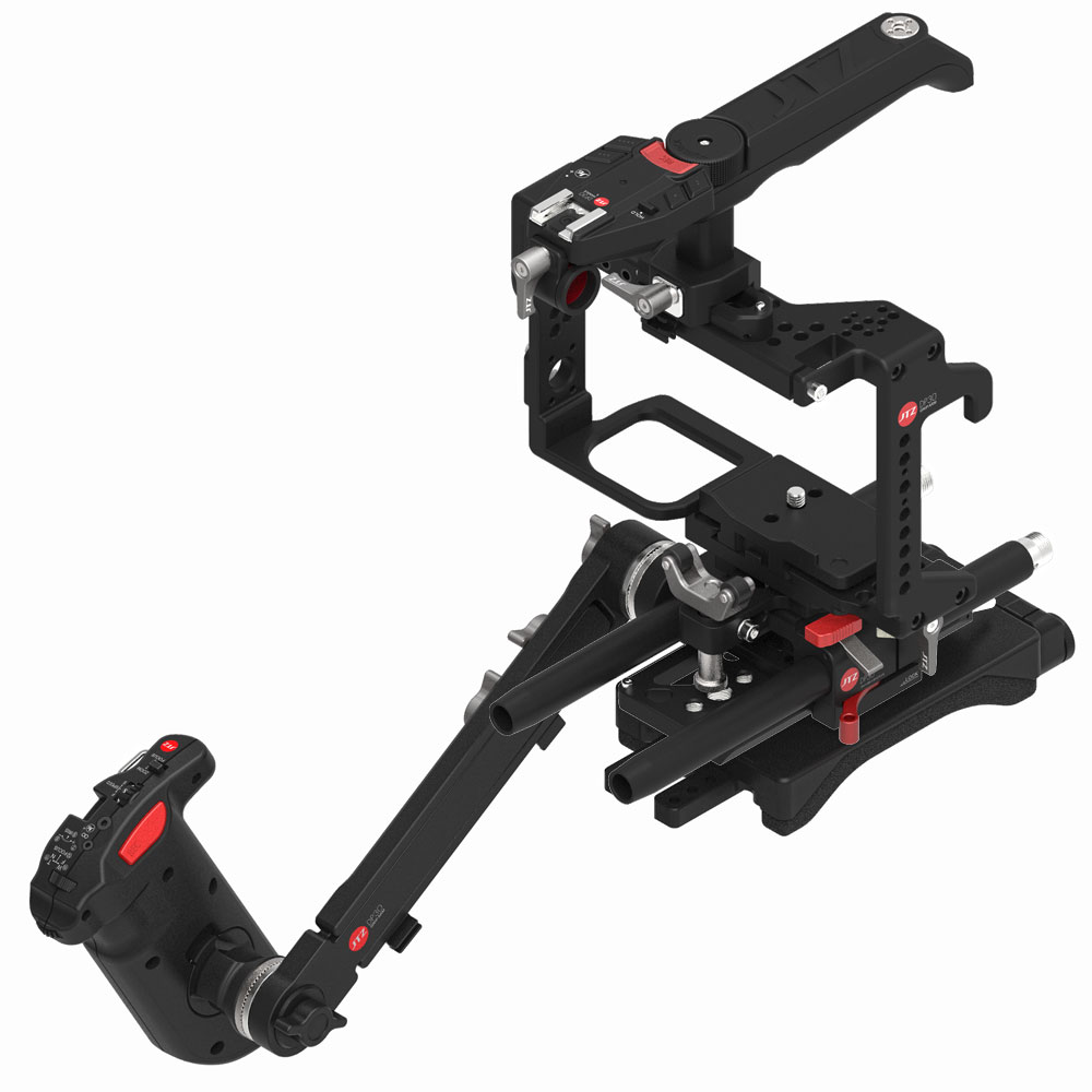 JTZ DP30 Camera Cage Baseplate Shoulder Handle Rig KIT For Panasonic GH3 GH4 GH5 GH5S jtz dp30 camera cage baseplate rig for blackmagic ursa mini 4k 4 6k ef pl cinema