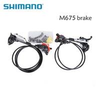 Shimano SLX M675 BR BL M675 Hydraulic Brake Set Front and Rear bicycle parts brake bike mountain bike disc brakes Black