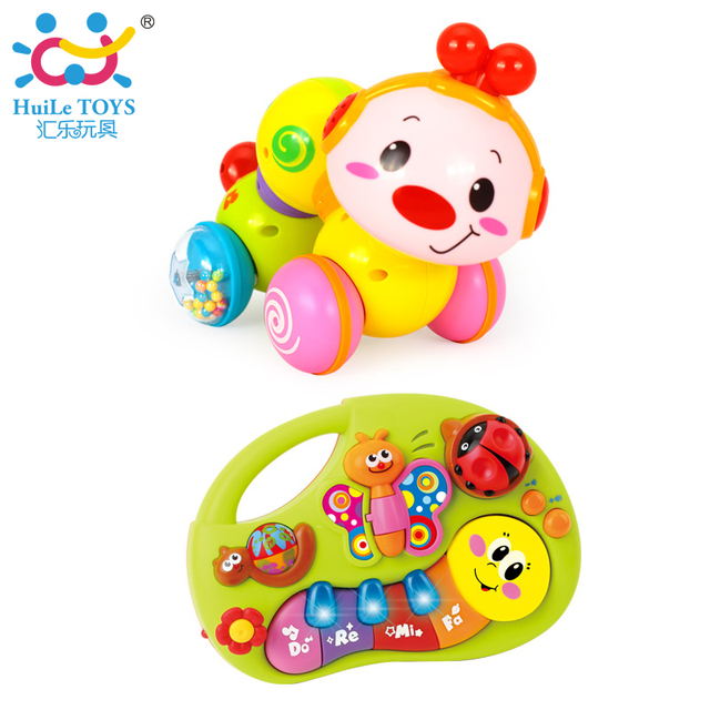 e2a2a3485fd72 Electric Educational Inchworm With Music/Light + Toddler Learning Machine  Toy Toy Musical Instrument Huile Toys 927-in Baby Rattles & Mobiles from ...