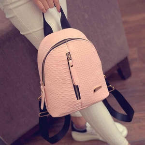 Backpacks Schoolbags Travel Girls Fashion New PU for Female Mochila Feminina -L5