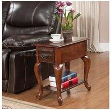 Американский дерево тигр ноги диван столик. Многофункциональный небольшой чайный столик