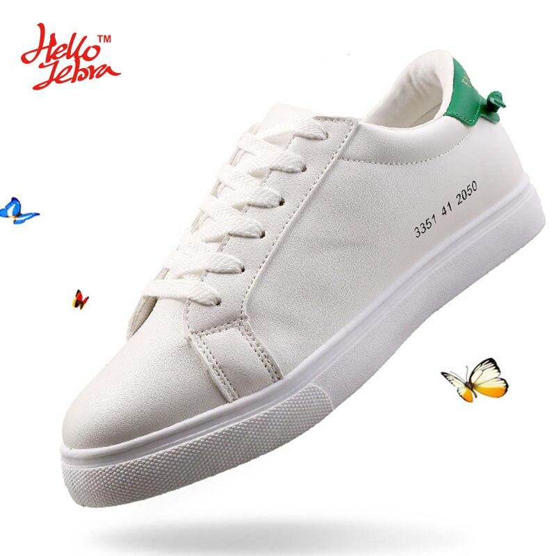 ФОТО Hellozebra Men Unisex Casual Shoes Fashion Single Couples White Shoes Mixed Colours Basic Balance 2017 Spring Summer New Design