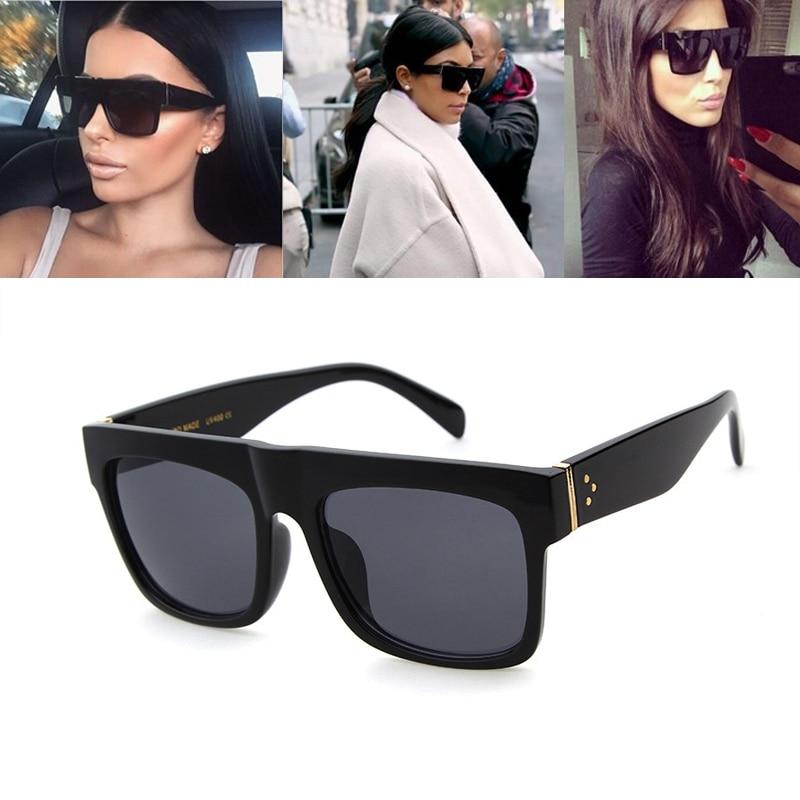 9330cf175823c0 LongKeeper Nieuwe Mode Luxe Merk Designer Kim Kardashian Zonnebril Vrouwen  Retro Shades Zonnebril Mannen Mujer Gafas