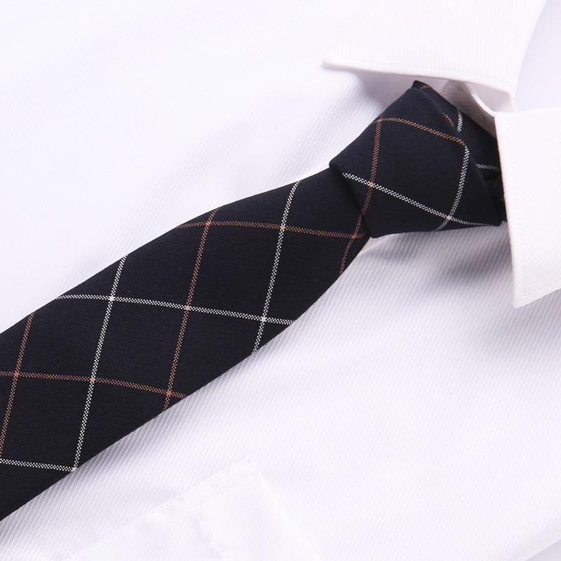 2018 Cotton Tie 6 Cm Brand New Fashion Popular In Panty Men Ties Dot Printed Neck Ties For Men Neckties Hand Made Wedding T04-21
