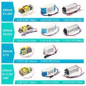 Image 4 - LED 드라이버 1W 3W 5W 10W 20W 30W 36W 50W 100W 300mA 600mA 900mA 1500mA 방수 조명 트랜스 포 머 DIY 램프 전원 공급 장치