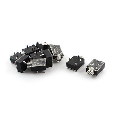 3.5mm Stereo Audio Jack Metal PCB Panel Mount Socket Connector dali epicon 2 black high gloss