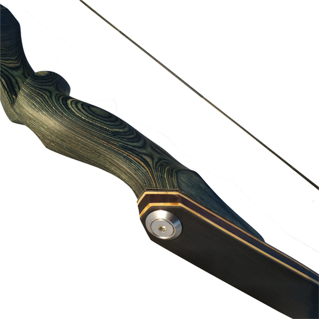30-60bls 60 Inch Archery Black Hunter Recurve Bow Left Right Hand Glassfiber Sheet Lamination Process for Hunting Shooting Bow 3