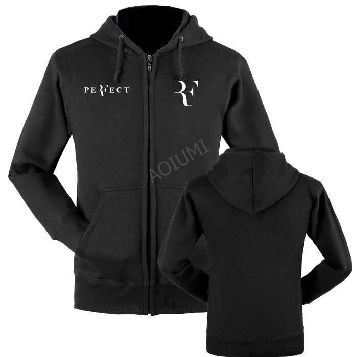 New Autumn men Hoodies R Roger federer Sweatshirt Fashion coats for man Women winter jackets Clothing