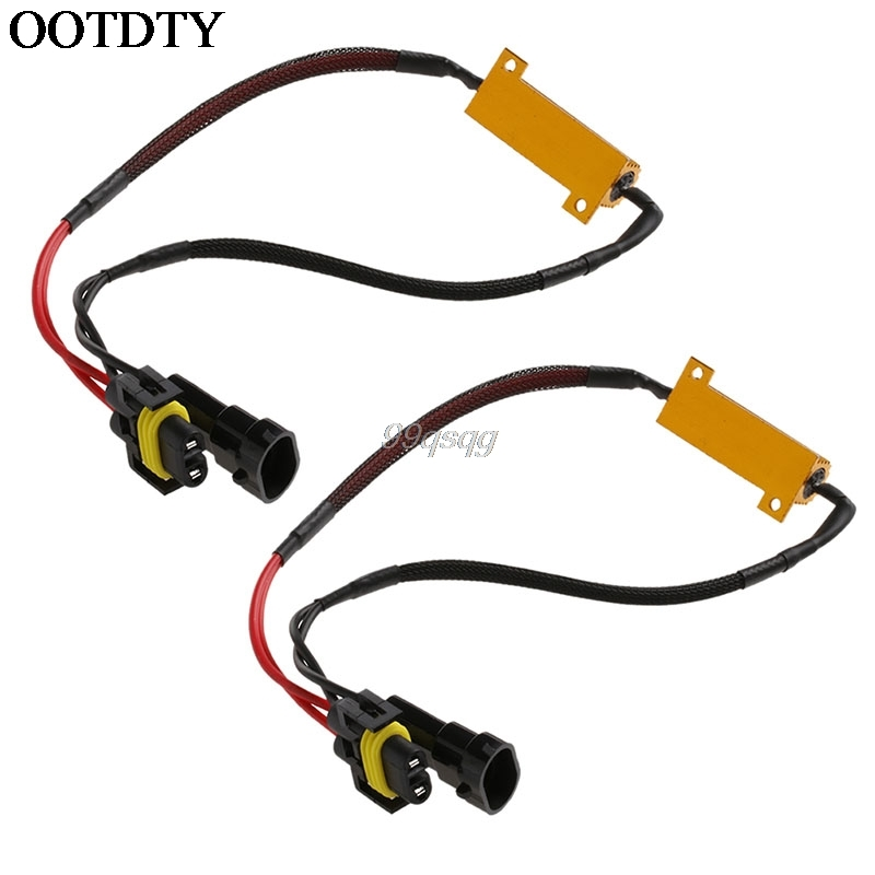 H8 H11 LED Light Canbus Load Resistor Flicker Decoders Warning Canceler Harness Car Electronics Drop shipping