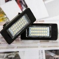 Tonewan 2Pcs LED License Plate Lights 6000K Number Plate Light For BMW E82 E88 E90 E92