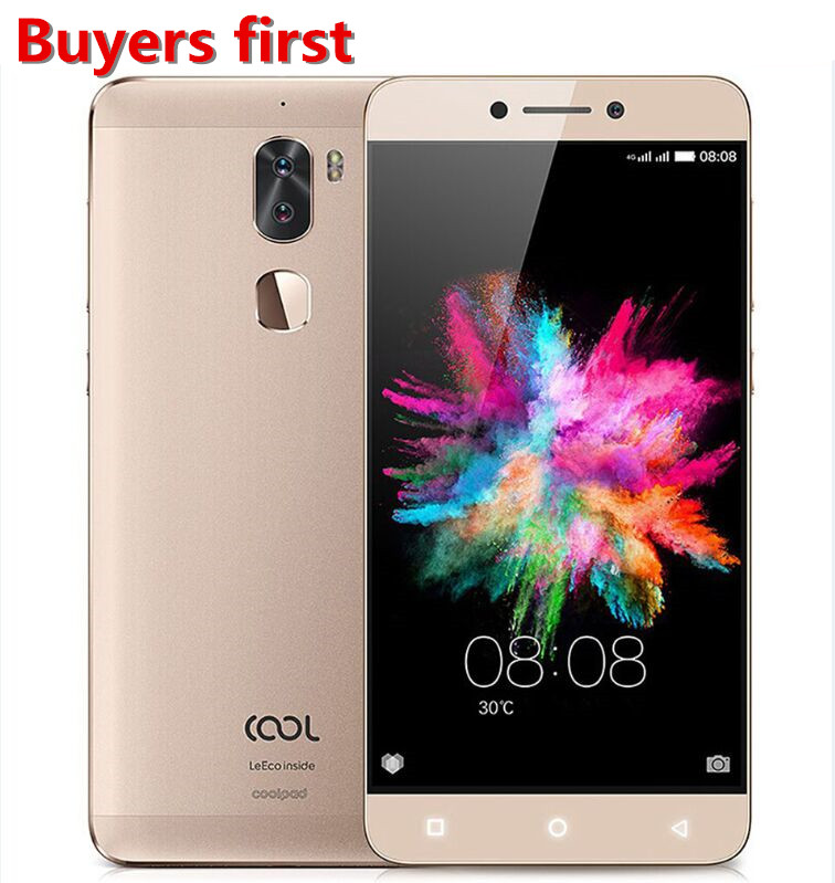 LeEco Coolpad Frais 1 R116/C103 MSM8976 octa base Smartphone RAM 3 GB/4 GB ROM 32 GB 4000 mAh Android 6.0 5.5 ''13MP 4G mobile téléphone
