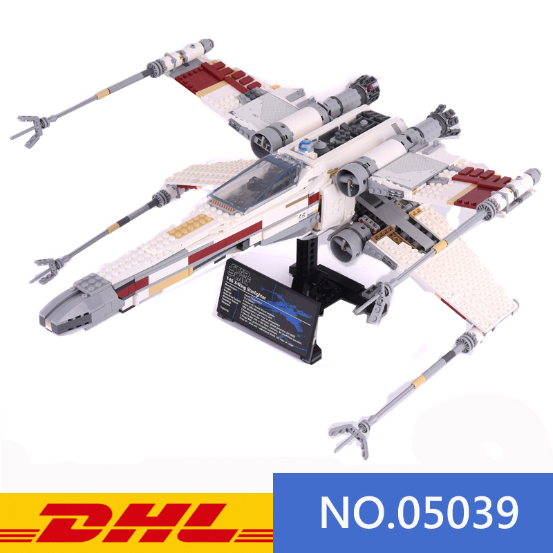 Star Wars Red Five Rebel X-Wing Fighter Building Bricks Toy Blocks Instructions