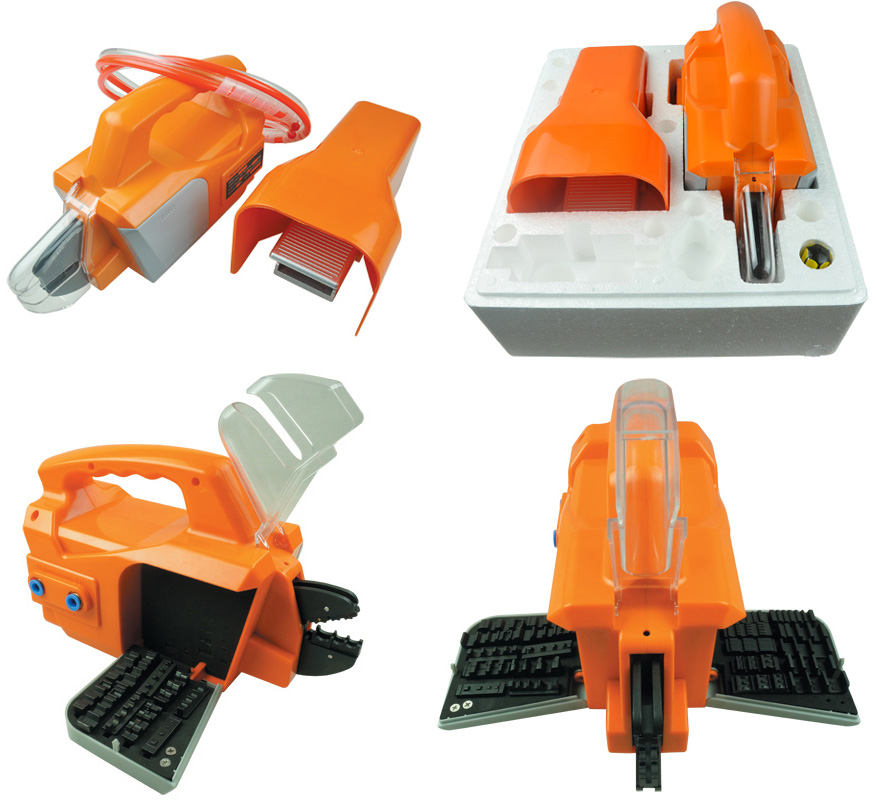 Pneumatic Crimping Tool machine AM 30 for crimping cable terminals and connectors with die set replacement