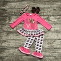 girls football outfit clothing baby girls love football clothes girls fall boutique outfits hot pink top with accessories