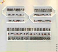 Nail salon nail polish glue display rack iron hanging wall shelving cosmetic store hanging wall storage rack