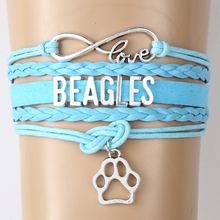 Beagles Bracelet Paw Charm Bangles Gift – 55% Discount – Free Worldwide Shipping