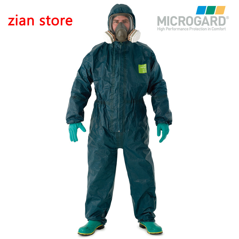 4000 B chemical protective clothing anti acid alkali ammonia gas liquid corrosion Formaldehyde paint Heavy pollution