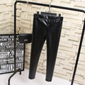 2016 Nuevo de Las Mujeres de Trabajo de Oficina Pantalones y Polainas de Las Señoras Más El Tamaño 4XL Alta Stretch Pantalones Lápiz negro de Alta Cintura Femenina pantalones KK-55B