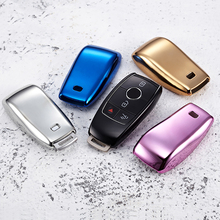 For Mercedes Benz New E Class Car Remote Key Case Shell Protective Key Cover Fob Holder Car Styling