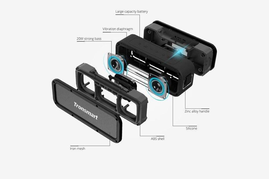 Tronsmart Force Bluetooth Speaker TWS Bluetooth 5.0 40W Portable Speaker IPX7 Waterproof (36)