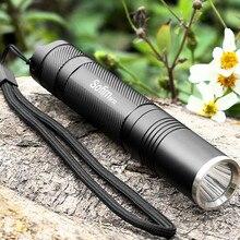Sofirn SF32 LED Flashlight 18650 Pocket light Torch Cree XML T6 L2 Powerful Lamp Tactical Mini Flashlight bike Camp Waterproof