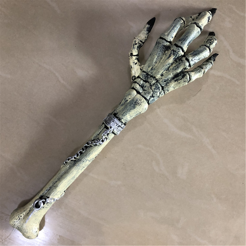 1:1 Cosplay Weapon Prop Scary Skeleton Grab Arm Movie Game Anime Role Play Halloween Link Cos Kids Gift Safety PU&Foam