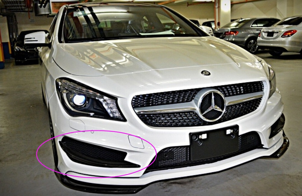 CLA260 Front Bumper Air Splitter Cover Trim For Mercedes