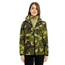 3in1 Brand Winter Jacket women Waterproof Jackets 2018 Outdoor Sport  Warm woman's coat Hiking Jackets manteau femme hiver