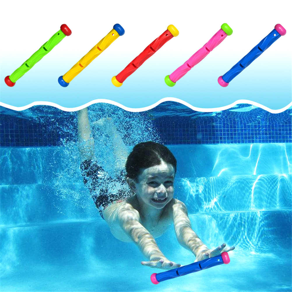 Duik Bar Speelgoed Onderwater Zwemmen Spelen Speelgoed Zwembad Grab Duiken Sticks Speelgoed Accessoire Ras Stok Water Spelen Zwemmen