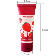 Strawberry Flavored Lubricant Gel