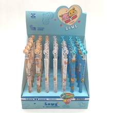 4pcs/lot Cute Cartoon Mechanical Automatic Press Pencil Writing School Office Supply Student Stationery 0.7mm