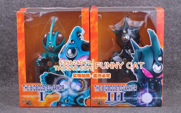 Guyver 1 / I & Guyver 3 / III  Yoshiki Takaya Comic Anime  Bio Booster Armor Guyver  Battle State 7  Action Figure comic vol 1