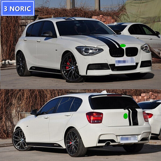 Car Styling Black Hood Roof Tail Decals Stickers Car Body - Bmw car decals stickers