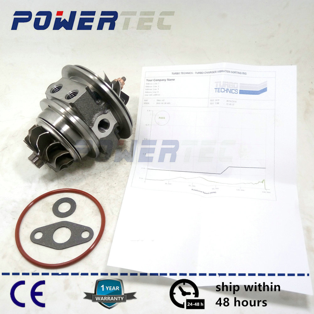 Turbine CHRA cartridge TD04L For Volvo PKW XC70 / XC90 2.5 T B5254T2 210HP - turbo core 49377-06210 49377-06202 36002369 turbo rotor assembly shaft wheel td04l 49377 04100 14412 aa260 a231 49377 04300 for subaru forester impreza 58t ej20 ej205 2 0l