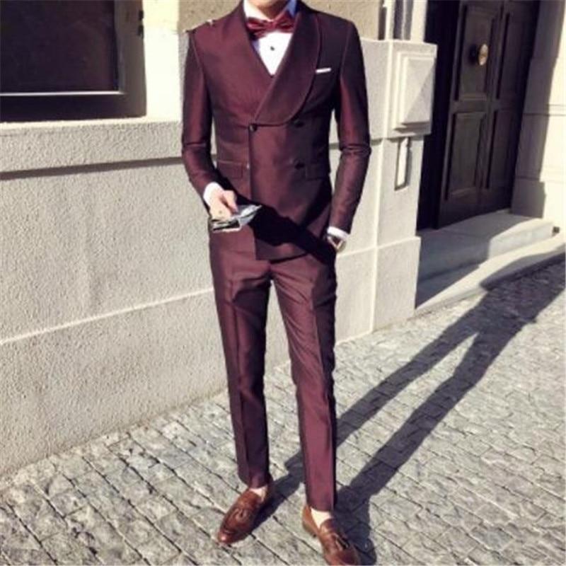 Boda Formal Traje De Masculino Color custom Elegante 2 Piezas Para Picture  Lazo Encargo chaqueta Hombres ... 5dc1c51003c