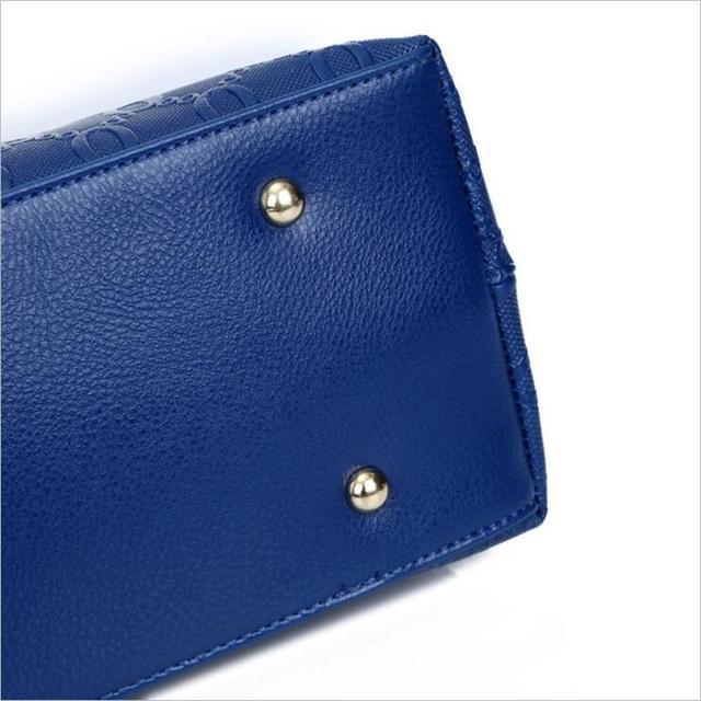 ETONTECK Women Bag Top-Handle Bags Female Famous Brand 2018 Women Girls Messenger Bags Handbag 4 Set PU Leather Composite Bag 3